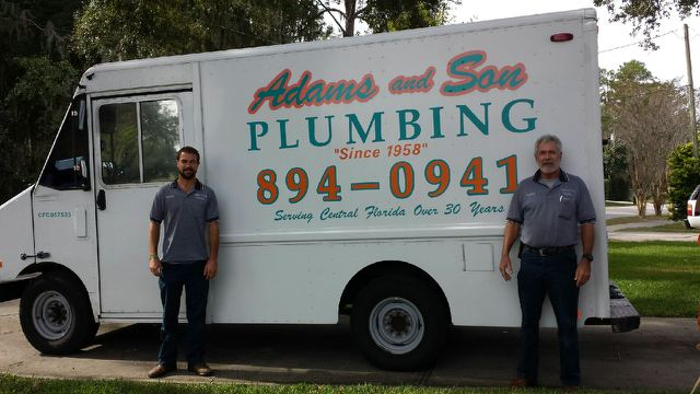 Adams and Son Plumbing Family History