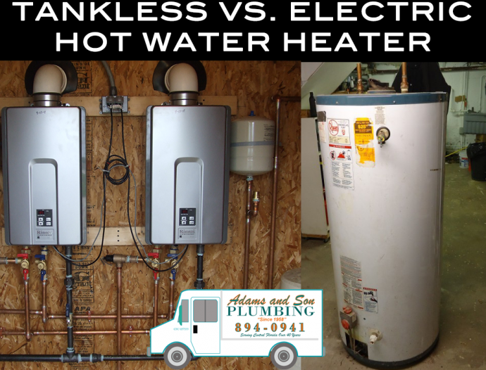 Electric Vs Tankless Hot Water Heaters