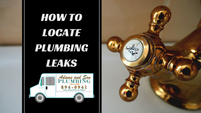 locating plumbing leaks sink