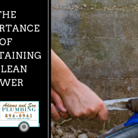 CLeaning Maintaining Sewer